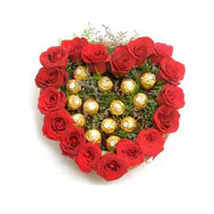 Ferrero Rocher With  Roses