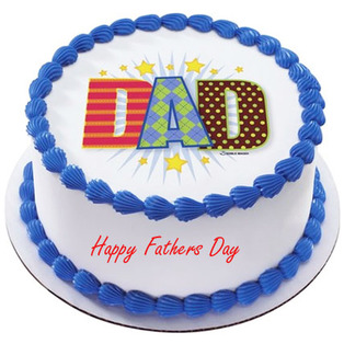 Black Forest cake to Bangalore  Special Words to Dad Cake
