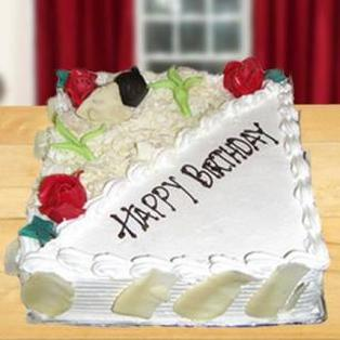 Send white forest cake to Bnagalore