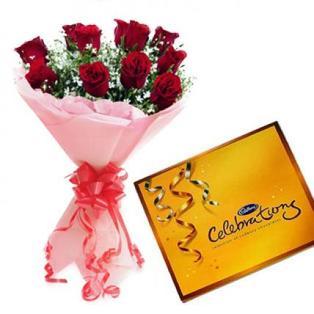Roses Bouquet to Bangaluru