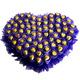 Valentine Heart Shaped Chocolate Bouquet
