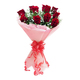 Valentine Red Roses Bunch
