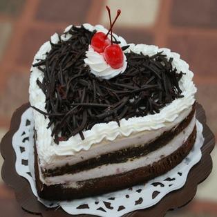 Valentine Black Forest Cake