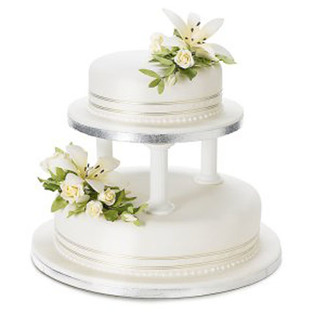 Truffle cake to Bangalore 5 Star 2 Tier Cake