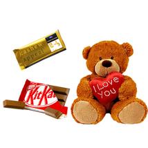 Teddy and Chocolate