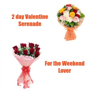 Valentine Flowers to Bangalore