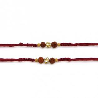 Set of 2 Rakhis-All Rudraksha