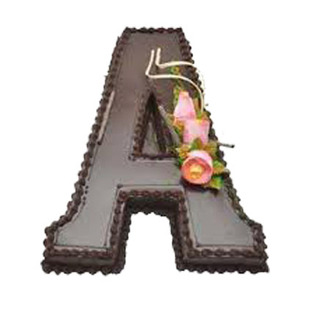 Alphabetical Cake to Bangalore