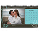 Valentine Personalised Desk Calendar