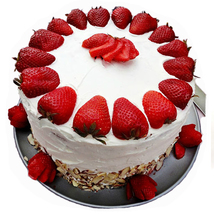 Strawberry 5 star cake to bangalore