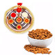 Rakhi Thali + Almonds with Free Rakhi