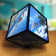 Photo Cube Rotating