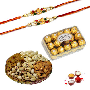 Rakhi Dry Fruits to Bangalore