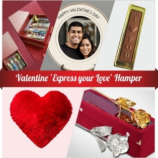 Chocolate Truffle cake to Bangalore Hamper Valentine Express Your
