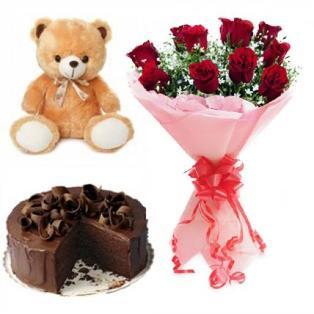 Valentine Cake to Bangalore