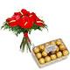 Anthurium Bouquet & Chocolate