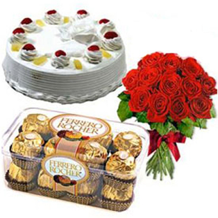 Same Day  Cake, flowers ,Chocolates to Bangalore