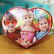 Heart Shaped Rotating Photo Cube