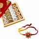 Khoa Sweets with 2 Free Rakhis