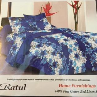 Double Bedsheet Blue