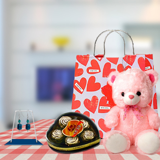 Valentine Combination gifts to Bangalore