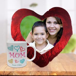 Mothers Day Cushion and Mug Combo