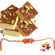 Chocolate Burfi With Rakhi
