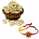 Cashew Nuts with 2 Free Rakhis