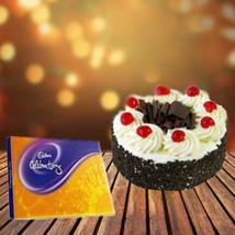 Cake and Cadbury Celebration