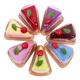 Set of Baby Napkins-Cake Style
