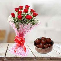 Gulab Jamun & Roses