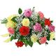 Mixed Carnation Basket