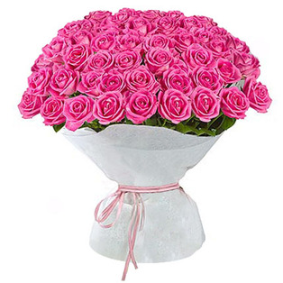 Send Pink Roses Bouquet to  Bnagalore