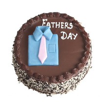 Chocolate Photo Cake for Dad