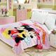 Mickey Minnie Pink Kids Blanket