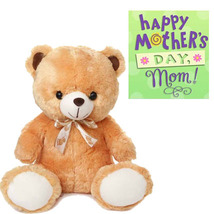 Teddy With Mother,s Day Card